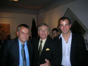 Emilio Slaviero, Bernard Millant és Tibor Kovács
