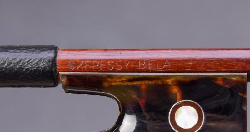 Szepessy Béla hegedűvonó