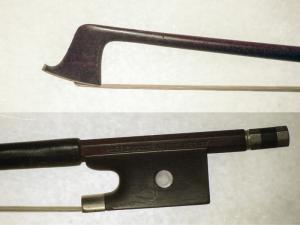 András Bergmann violin bow