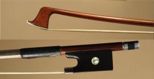 László Császár violin bow