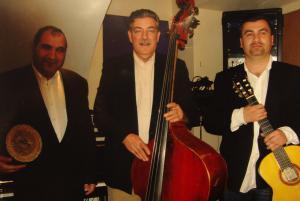Das Pusztai Trio: Tibor Kanalas, Sándor Radics, Pusztai Antal